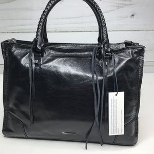 Rebecca Minkoff Regan Medium Leather Satchel NWT